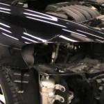 Volvo C70 フェンダーとバンパーの板金塗装修理.荒川区のお客様|東京都の和光自動車