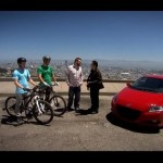 Honda CRZ versus Mountain bikers – Top Gear USA – Series 1 【ホンダ】