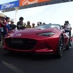 新型ロードスターのサプライズ走行 / Mazda New Roadster ND (MX-5) Circuit Racing