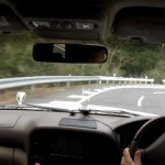 トヨタ ランドクルーザー100 箱根ドライブ