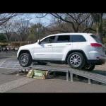 jeep クロカン4駆の悪路走破力 グランドチェロキー ラングラー Performance off-road rough road four-wheel drive