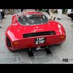 Alfa Romeo Tipo 33 Stradale Sound @ Villa D'Este 2011 【アルファロメオ】
