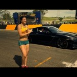 Nissan GTR Vs a Woman – Top Gear Festival Sydney 【日産】