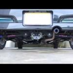 スバル ステラ カスタムR EN07 純正マフラー音 エンジン音