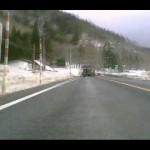 【R13】 栗子峠走行(冬季) 山形県米沢市~福島県福島市