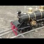ライブスチーム模型蒸気機関車 アメリカ人は中国で生産している