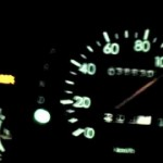 スバル プレオRS CVT C型 0-100 km/h 加速