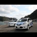 HONDA FIT EV TEST RUN スクープ!本編「ホンダEV電気自動車が天草道を走る」