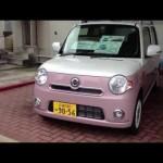 ダイハツ 新型ミラ ココア 女の子向きツートンカラー 軽自動車!
