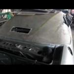 17BL FRP強化自作ルーフ製作、車体ワンオフ改造レストア!!イタリア車のだって8 接着-耐衝撃-発泡体の強化へGM-6815開発へ20140315