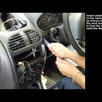 Connects2: Peugeot 206 Double Din Conversion 【プジョー】