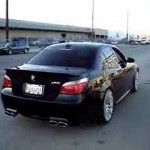 BMW E60 M5 Burnout (Eisenmann Exhaust, Hartge Wheels, etc.) – Great Sound! 【ビーエムダブリュ】