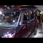 デイズルークス ライダー ハイウェイスター 比較 軽自動車 ワゴン 動画 日産 東京オートサロン2014