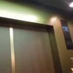 ホテルグランヴィア広島のエレベーターPart4(右側2基右側更新後・右側2基左側改修中)
