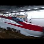 JR貨物 JR東日本 秋田新幹線E6系(Z13)甲種(9866レ EF65-2094)名古屋駅 警笛