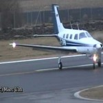 Piper PA-46-350P Malibu Mirage Landing at Augsburg 【ミラージュ】