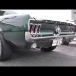 V8 エンジンサウンド  ブリット マスタング アメ車マッスルカー