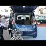 【ソリオ】試乗車のソリオに自転車を載せる ユタカオートサービス