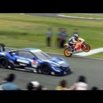 [HD]史上初!NSX CONCEPT-GT vs RC213V エンジョイホンダ熊本2014 【ホンダ】