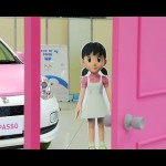 """ドラえもんの""""しずかちゃん""""をイメージした新型パッソをお披露目 #lovecars #toyota #passo 水川あさみ 天野まさゆきSHIZU-CAR しずカー"""