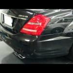 メルセデスベンツ  S65AMG V!2ビターボのエンジン音