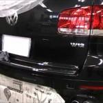 VW Touareg W12 SPORT の板金塗装修理.千葉県のお客様|荒川区の和光自動車