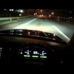 トヨタ センチュリー V12 1GZ-FE 高速道路 走行 エンジン回転数80.90.100