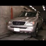 Benz ML350 (W163) の板金塗装修理.横浜市のお客様|荒川区の和光自動車