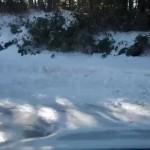 スバルレガシィS402雪道の実力