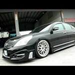 Nissan Teana J32 with AirREX digital air suspension system 【日産】