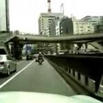 東京・銀座 ねずみ獲り!高級外車捕獲!?
