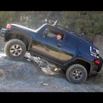 FJ Cruiser, Sequoia, and Hummer H3 Off-Road on Rattlesnake Trail 【オフロード】