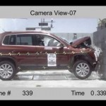Crash Test 2009 – 2012 Volkswagen Tiguan SE 4Motion 5dr. MPV (Full Frontal Impact) NHTSA 【フォルクスワーゲン】