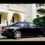 マセラティ・クアトロポルテ 乾いたサウンド! Maserati