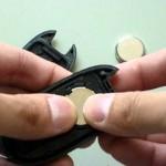 スズキ パレット リモコンキーの電池交換方法