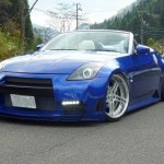 customized Nissan Z33(350Z)Roadster cat-back straight pipe HD 【日産】