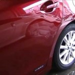 Lexus CT200h の板金塗装修理.神奈川県のお客様|荒川区の和光自動車
