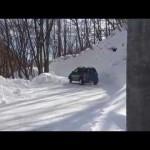 FRビーゴで雪道を走る!