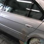 BMW 750iL (E38) の板金塗装修理. 千葉県からのご依頼|荒川区の和光自動車