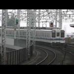 東武伊勢崎線 複々線区間の朝ラッシュ時撮影
