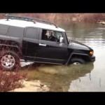 2007 Fj Cruiser Getting water over hood! 【FJクルーザー】