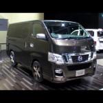 NISSAN NV350 CARAVAN Interior & Underside Tokyo Motor Show 2011東京モーターショー 2011