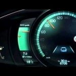 New Volvo V40 2012 – Active TFT Display at instrument cluster 【ボルボ】