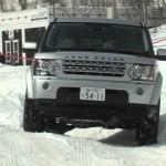 ランドローバー&レンジローバー雪上試乗会 LANDROVER RANGEROVER Snow Drive