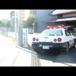 R34GTRスカイライン交通パトカー