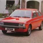 1982 日産チェリー(日産パルサー・イギリス仕様車) NISSAN CHERRY UK versioned Nissan PULSAR