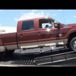 Ford F350 vs. Dodge Ram vs. Chevy GMC Sierra Truck Challenge MEGA TEST 【フォード・ダッジ・GMC】