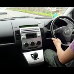 マツダ・プレマシー:東名高速を初心者マークで爆走! Mazda Premacy on Tomei Highway