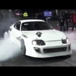 2000馬力 トヨタ スープラ 驚異の加速 エンジン音