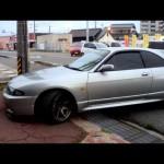 450馬力!R33 スカイライン GT-R ドライブ SKYLINE バックタービン